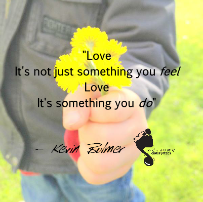 Kevin Bulmer Lyric Slide - Love is something you do