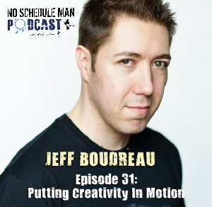Putting Creativity In Motion: Jeff Boudreau of Jeff's Musical Car – No Schedule Man Podcast, Ep 31