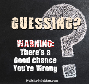Warning: There's a Good Chance You're Wrong