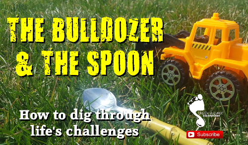 Kevin Bulmer - Footsteps Video Blog on Personal Development | Bulldozer and the Spoon