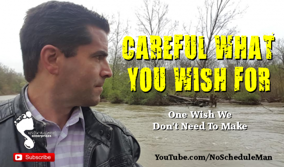 Careful What You Wish For: Kevin Bulmer Video Blog