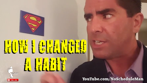 Kevin Bulmer Video Blog - How I Changed a Habit
