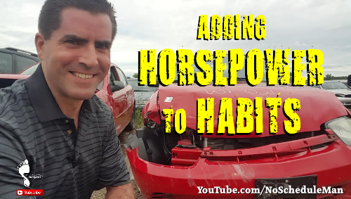 """Adding Horsepower To Habits"" – Money is a Magnifier"