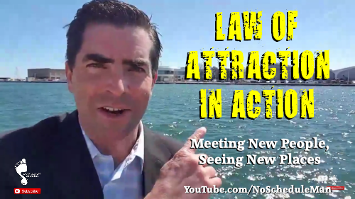 Kevin Bulmer Footsteps Video Blog | The Law of Attraction in Action