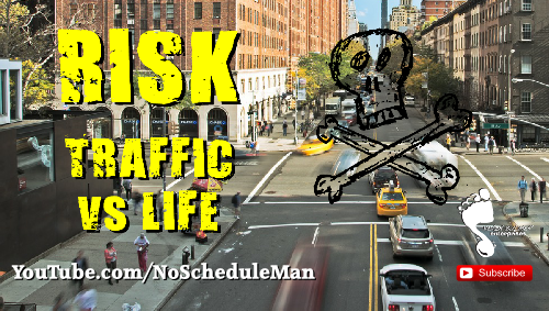 Kevin Bulmer Footsteps Video Blog | Risk - Traffic vs Life