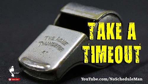 Kevin Bulmer Video Blog | Take a Timeout