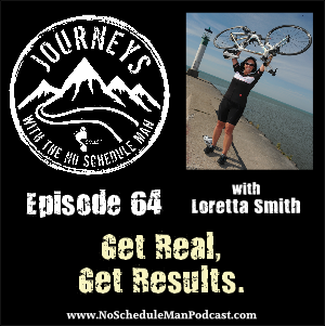 Get Real, Get Results. Tough Business Questions Have Simple Answers - Loretta Smith | Journeys with the No Schedule Man, Ep. 64