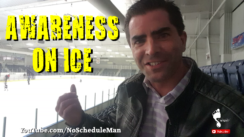 Awareness On Ice | Kevin Bulmer Footsteps Video Blog