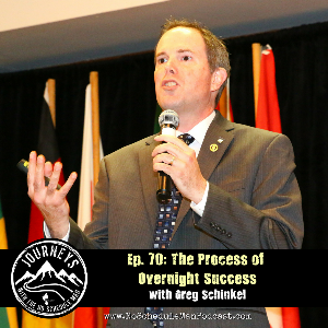 The Process Of Overnight Success – Greg Schinkel    Journeys with the No Schedule Man, Ep. 70