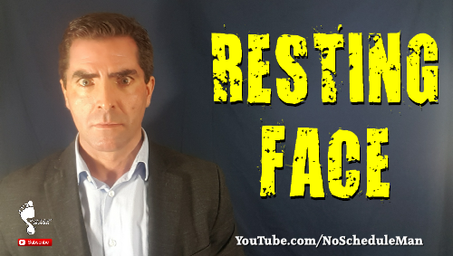 Resting Face | Kevin Bulmer Personal Development Video Blog