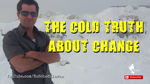 The Cold Truth About Change | Kevin Bulmer Personal Development Video Blog