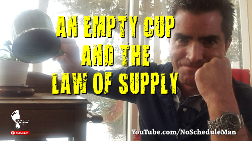 An Empty Cup & The Law Of Supply | Kevin Bulmer Personal Development Video Blog