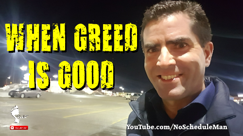 When Greed Is Good - The Irony Of Personal Development | Kevin Bulmer Video Blog