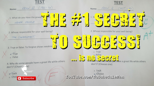 The #1 Secret to Success (is no secret) | Kevin Bulmer Personal Development Video Blog