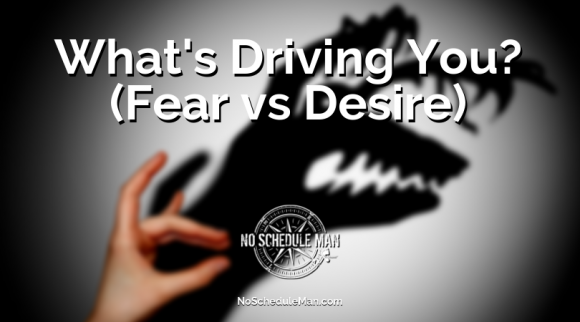 What's Driving You? (Fear vs Desire) | Kevin Bulmer