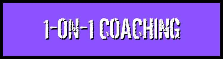Work with Kevin - 1-on-1 Coaching