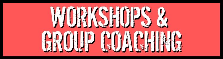 work with Kevin - Workshops & Group Coaching