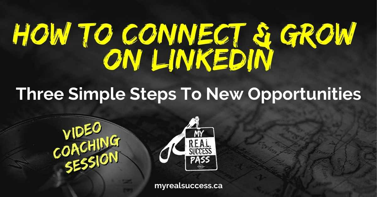 How To Connect & Grow On Linkedin (Video)