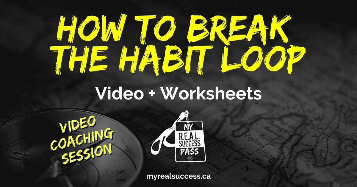 "How to Break The ""Habit Loop"" (Video + Worksheet)"