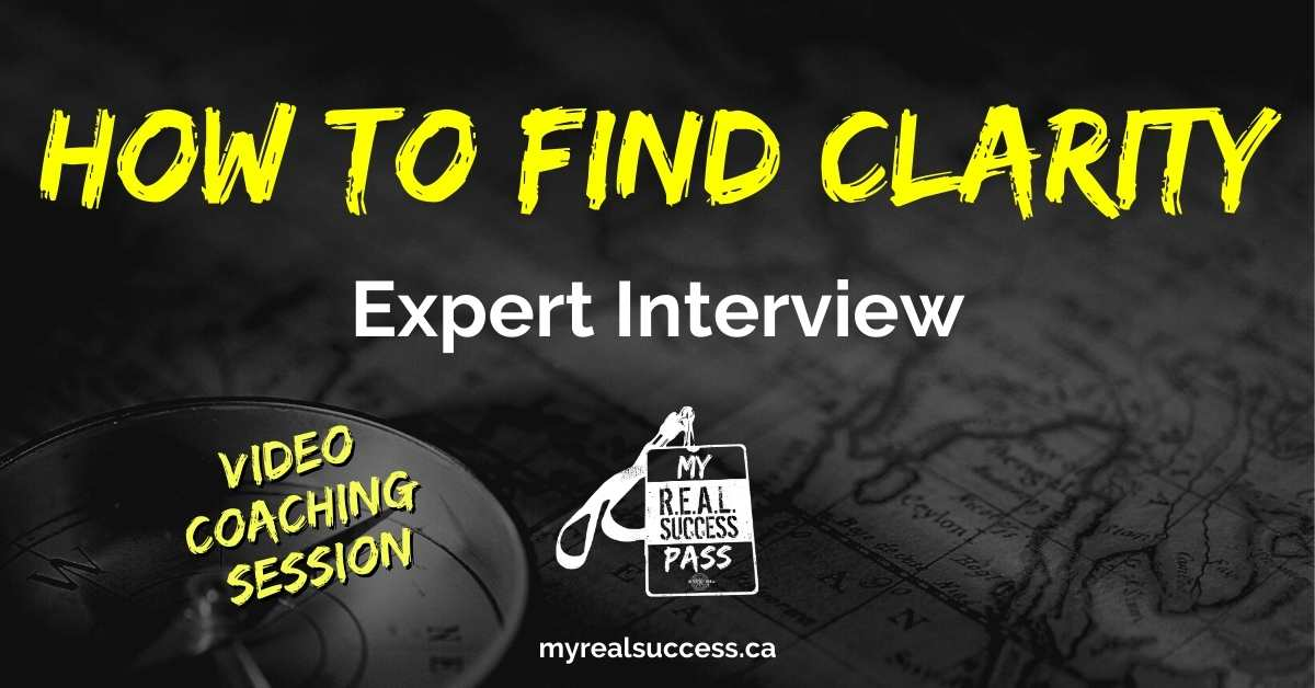 How To Find Clarity + 5 Pillars To Success – Expert Interview (Video)