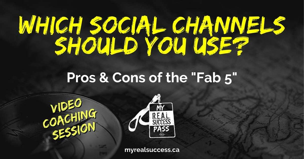 Which Social Media Channels Should You Use? (Video)