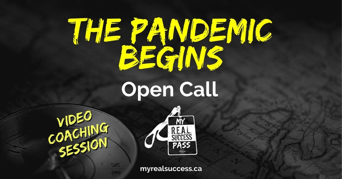 The Pandemic Sets In – Open Call (Video Session)