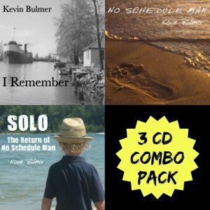 Kevin Bulmer 3 CD Combo Pack Image