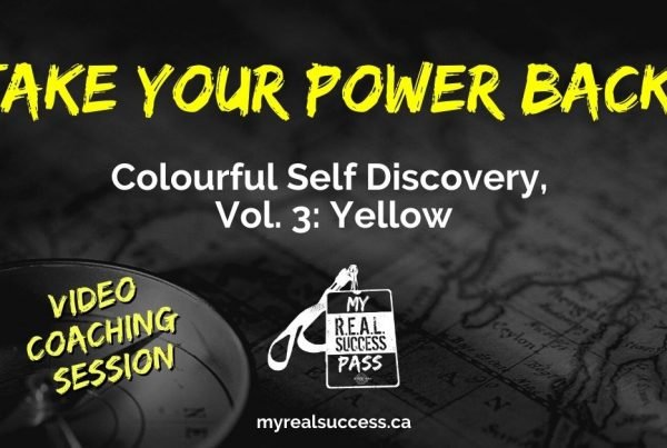 Take Your Power Back - Colourful Self Discovery, Vol. 3: Yellow