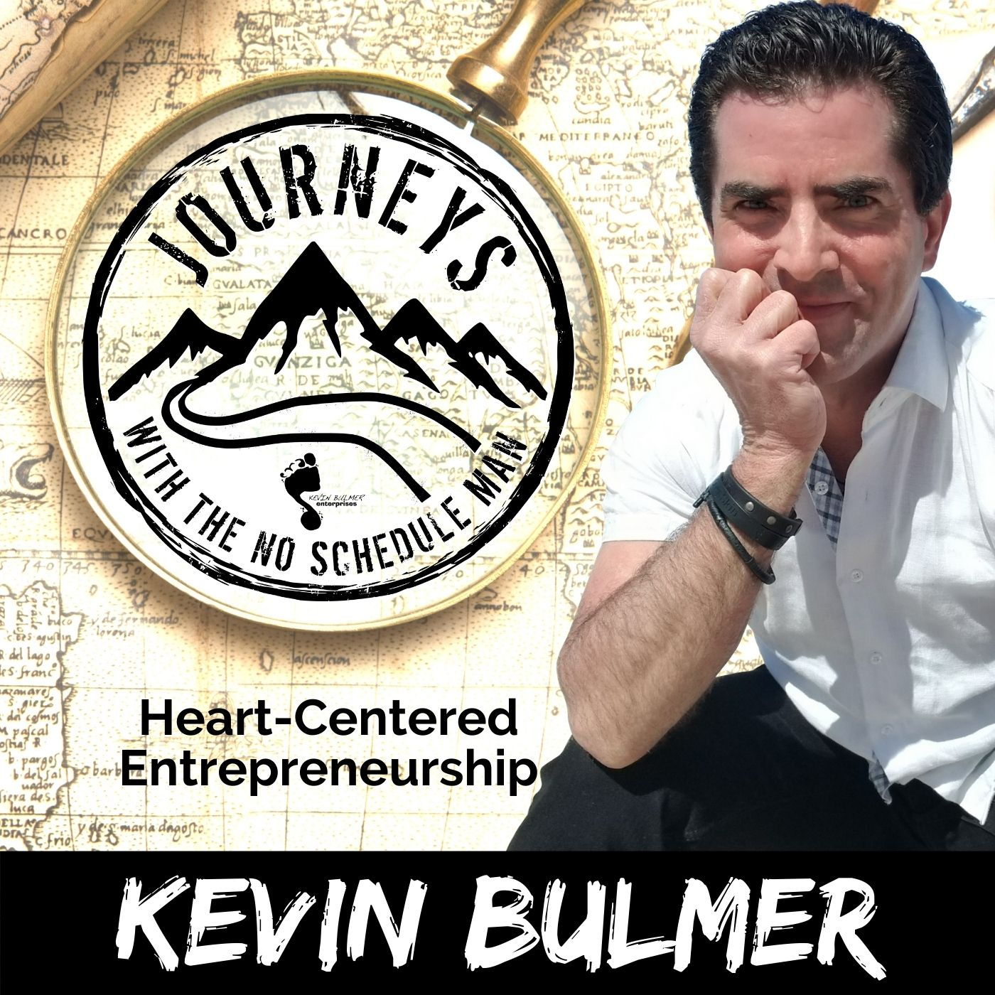 Journeys with the No Schedule Man | heart-centered entrepreneurship podcast