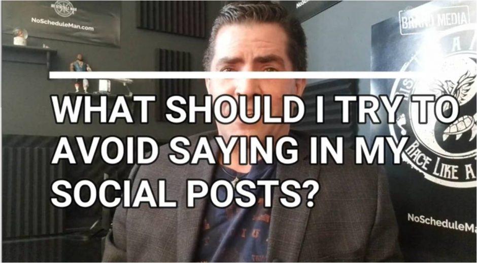Avoid These Phrases For Better Social Media Posts | NSM Brand Media