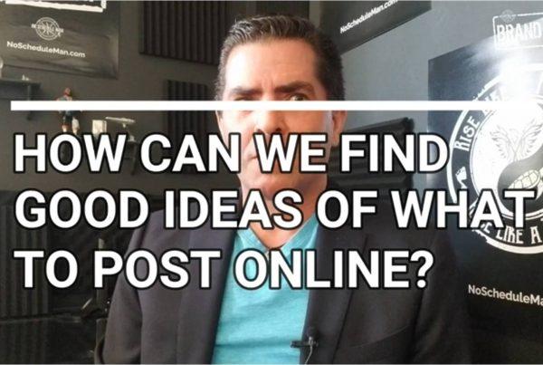 Want More Social Media Post Ideas? Do This. | NSM Brand Media